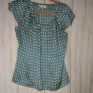 Small career top work teal